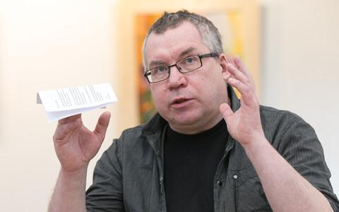 Kirjanik Peeter Sauter.
