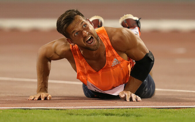 Магнус Кирт вновь улучшил рекорд Эстонии.