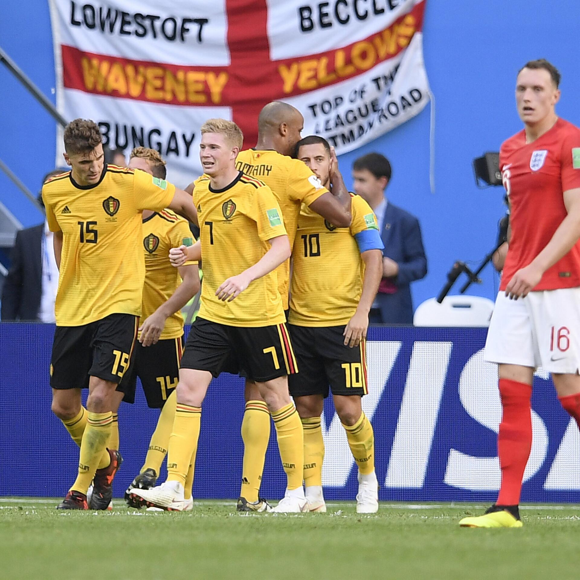 71cc27970d8 VIDEO   Meunier' ja Hazardi väravad tõid Belgiale kolmanda koha   Jalgpalli  MM   ERR