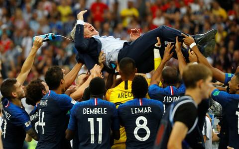 Prantsusmaa jalgpallikoondis ja peatreener Didier Deschamps