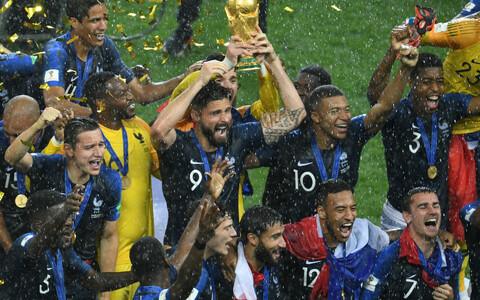Prantsusmaa jalgpallikoondis MM-tiitliga