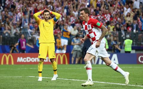 Hugo Llorisi eksimus tõi Horvaatiale nende teise värava