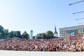 Просмотр финал ЧМ на площади Вабадузе.