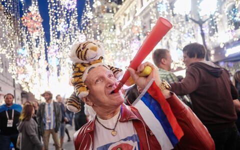 Jalgpalli MM-finaalturniir Venemaal sai läbi