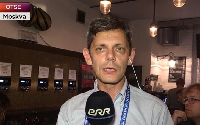 ERR Moscow correspondent Anton Aleksejev.