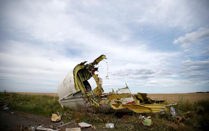 MH17 rusud Donetski oblastis 2014. aasta juulis.