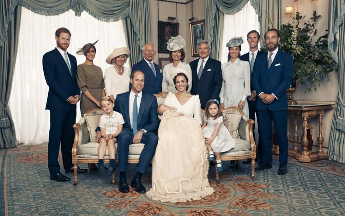 Kensingtoni palee avaldas prints Louisi ametlikud ristimispildid