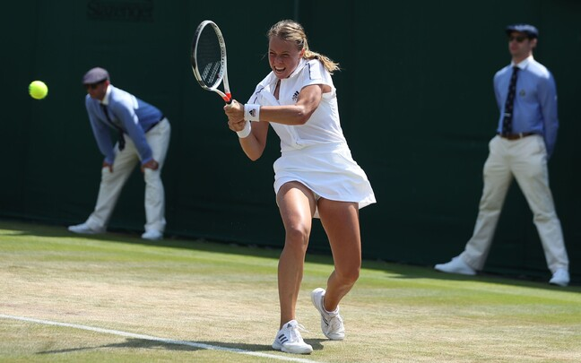 Anett Kontaveit Wimbledoni tenniseturniiril