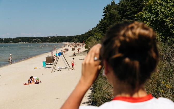 G4S vetelpäästja Pirita rannas
