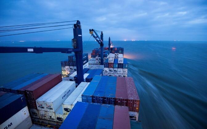 Prantsuse kompanii CMA CGM otsustas USA sanktsiooniähvarduste tõttu lõpetada tegevuse Iraanis.