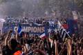 Prantsusmaa jalgpallikoondis jõudis kodumaale