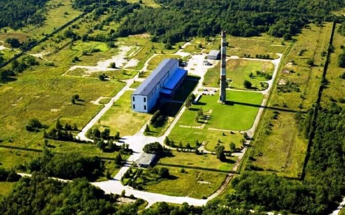 Временное хранилище радиоактивных отходов в Палдиски.