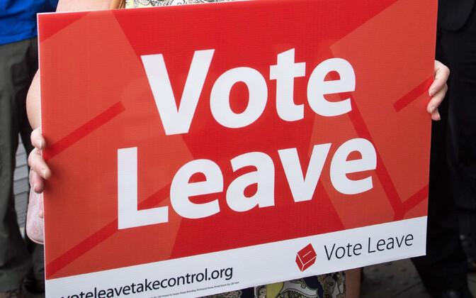 Vote leave.