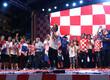 Horvaatia jalgpallikoondise vastuvõtt Zagrebis