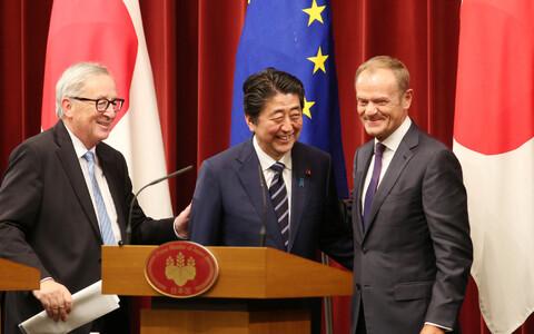ЕС и Япония подписали торговое соглашение.