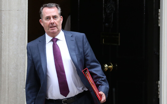 Briti kaubandusminister Liam Fox.