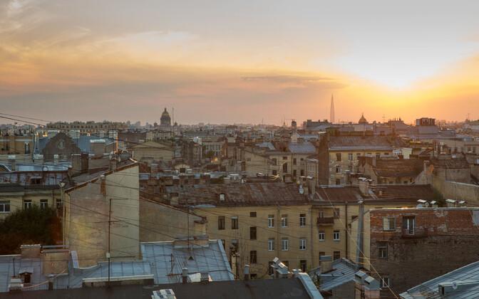 Санкт-Петербург - второй по численности населения город России.