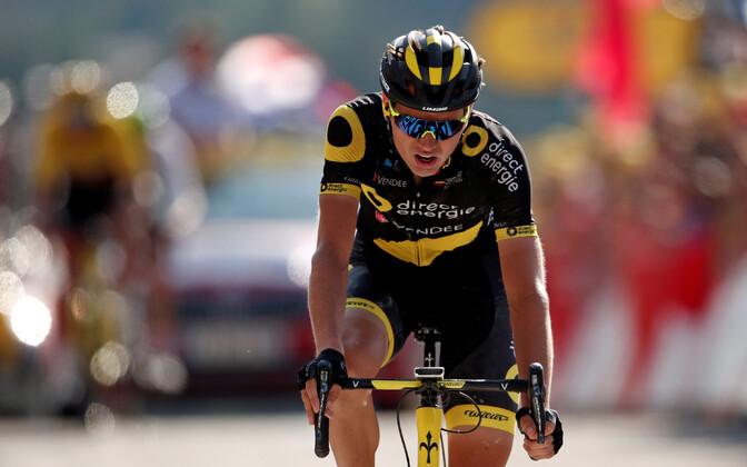 Rein Taaramäe Tour de France'i kümnenda etapi finišis
