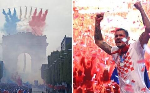 Празднования в Хорватии и Франции.