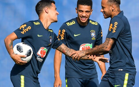 Coutinho, Taison ja Neymar jalgpalli MM-il