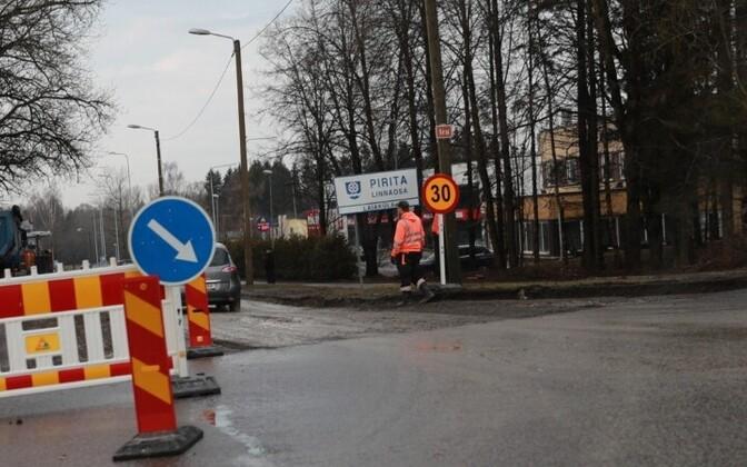 Ремонт перекрестка начался в середине апреля.