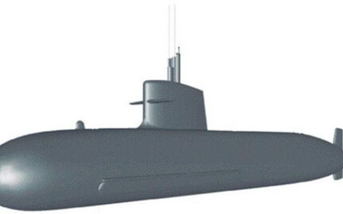 Esialgse S-80 pilt Hispaania kaitseministeeriumi veebilehel.