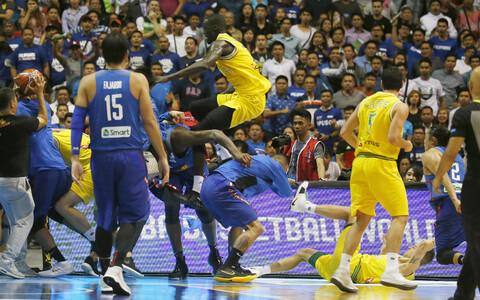 Austraalia ja Filipiinide korvpallikoondised