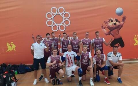 TTÜ võrkpallomeeskond üliõpilaste MM-il