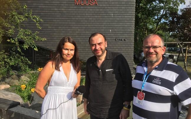 Anne Prommik, Dmitri Bertman ja Lauri Aav