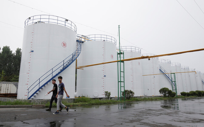 Naftamahutid Hiinas.