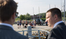 Estonian Prime Minister Jüri Ratas on Ruhnu island on Thursday.