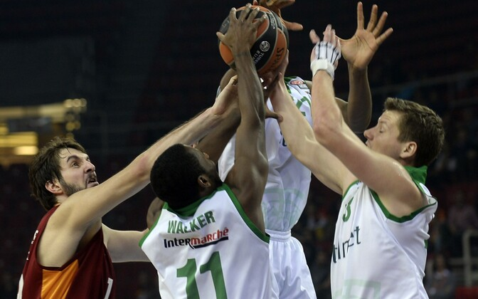 Баскетболисты польского клуба