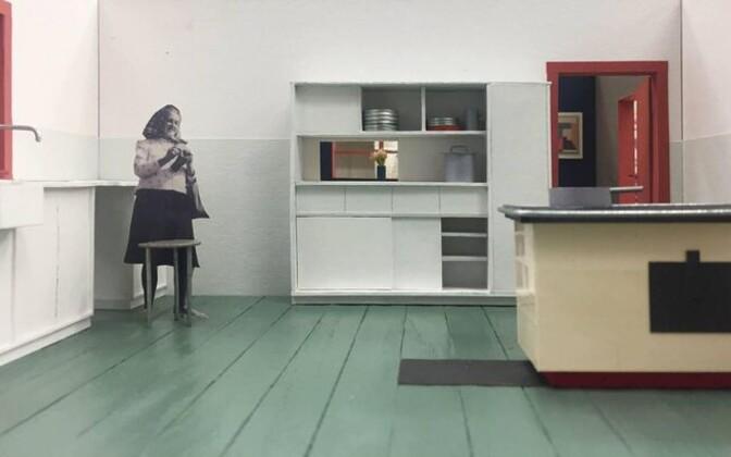 Kaader näitusest