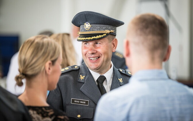 Col. Riivo Valge took command of the Estonian Air Force on Friday. 20 July, 2018.