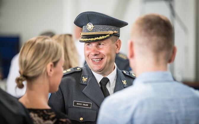 Новым командующим ВВС Эстонии стал Рийво Валге.
