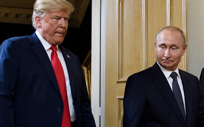 USA president Donald Trump ja Venemaa president Vladimir Putin.