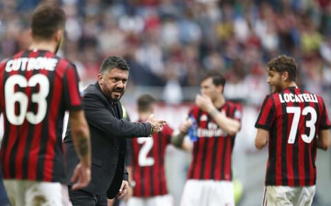 AC Milan ja peatreener Gennaro Gattuso