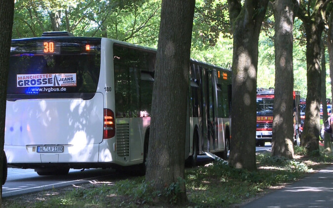 Lübeckis toimus bussis pussitamine.