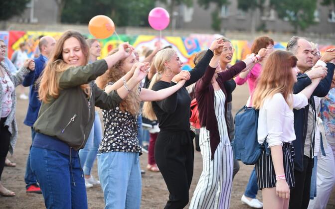 Фестиваль Baltic Sun в Нарве. День третий