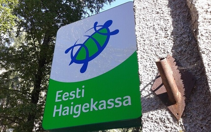 The Estonian Health Insurance Fund (Haigekassa) logo.