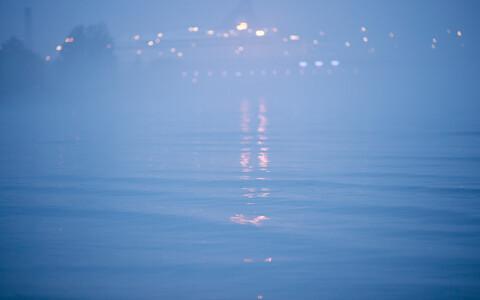 Туман над морем в Таллинне