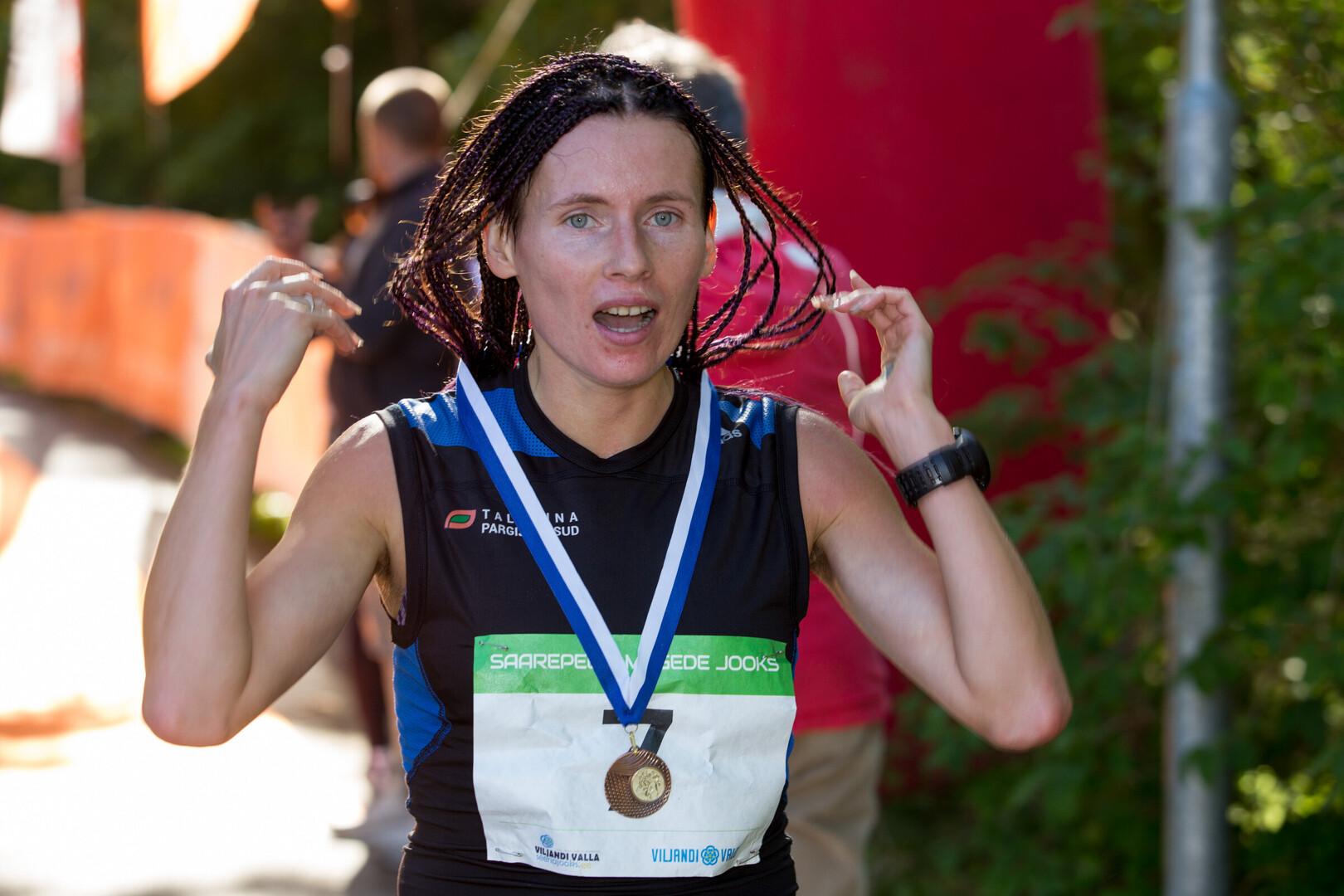 Andrejeva võitis Soomes rajarekordiga ja edestas ka kõiki mehi ... 173a838ad1