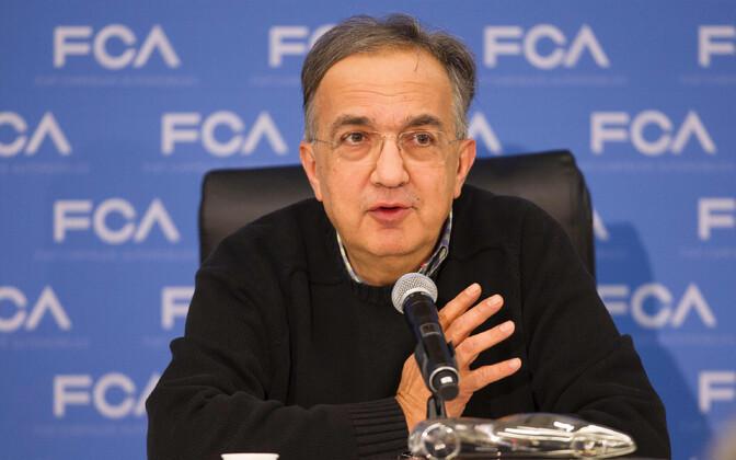 Fiat Chrysleri tegevjuht Sergio Marchionne 2017. aastal.