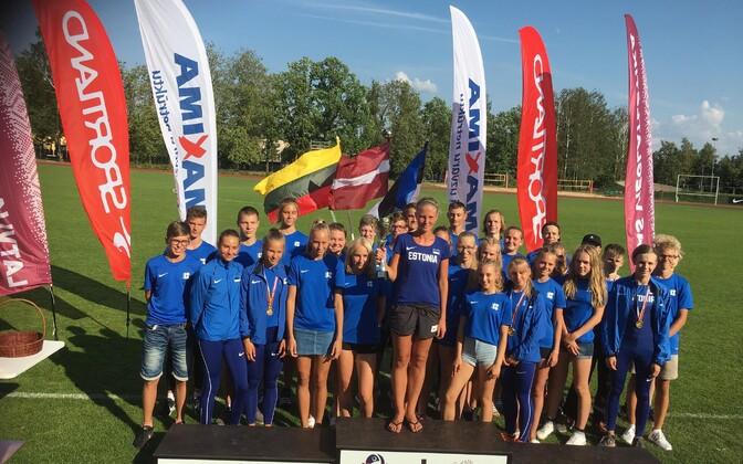 Eesti U-16 kergejõustikukoondis