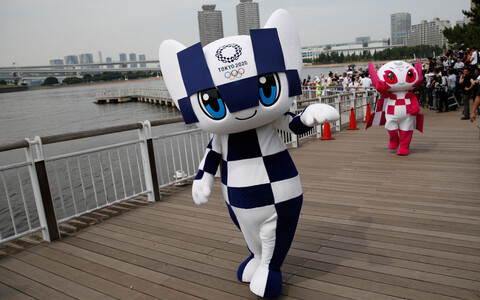 Tokyo olümpia maskotid