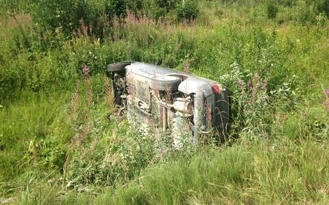 В результате ДТП водитель погиб на месте.