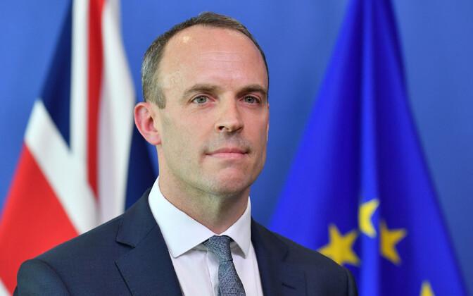 Brexiti-minister Dominic Raab.
