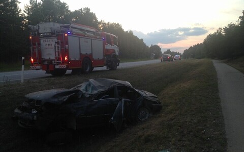 Авария в Тартумаа.