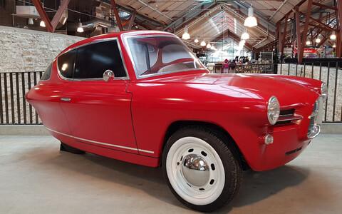 Первый эстонский автомобиль Nobe Cars.