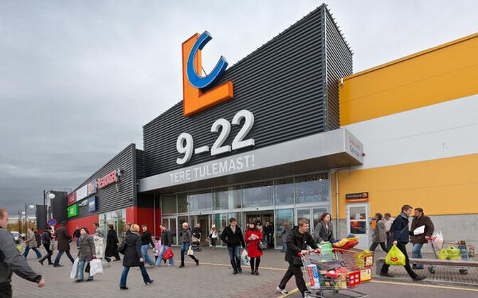 Торговый центр  Lasnamäe Centrum работает с 2003 года.
